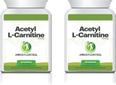 24Bodycontrol Acetyl L-carnitine Duopack vetverbranders - 180 capsules - Voedingssupplement