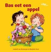 Bas - Bas eet een appel
