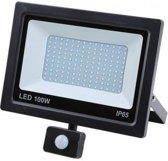 Hofftech LED straler 100W - Floodlight + Bewegingssensor - IP-65