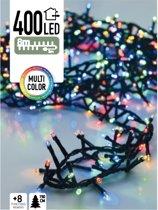 Gekleurde kerstlichtjes microcluster 8 meter (400 LED-lampjes)