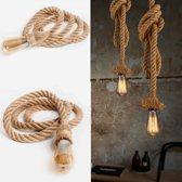 Touwlamp - Handgemaakt Design - 1m - 1 Fitting