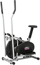TecTake Crosstrainer - 2-in-1 Crosstrainer / Hometrainer met LCD-display - 401716