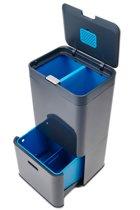 Joseph Joseph Intelligent Waste Totem Prullenbak - Aluminium - 58 l - Recycler - Graphite