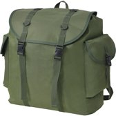 vidaXL Leger-stijl rugzak 40 L groen