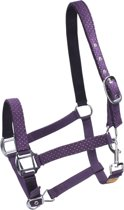 Epplejeck Halster  Dotted Silver - Purple - Pony