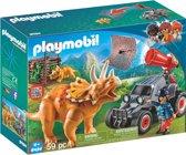 PLAYMOBIL Offroad buggy met dinovangnet - 9434