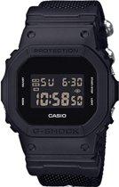 Casio DW-5600TB-1ER horloge heren - zwart - kunststof