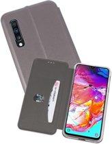 Slim Folio Case voor Samsung Galaxy A70 Grijs