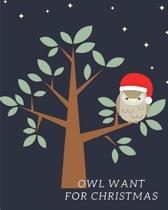 Owl Want for Christmas
