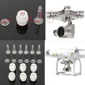 6 Demping Ballen + 6 Anti-drop Pins kit voor DJI Phantom 3
