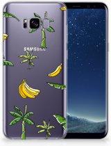 Samsung Galaxy S8 Plus TPU Hoesje Design Banana Tree