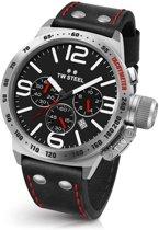 TW Steel CS10 Canteen Collection - Horloge -  50 mm - Zwart