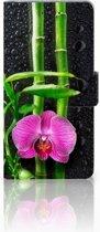 Samsung Galaxy Grand Prime Uniek Ontworpen Hoesje Orchidee