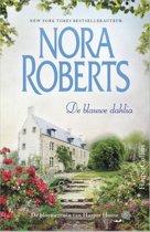 De bloementuin van Harper House 1 - De blauwe dahlia