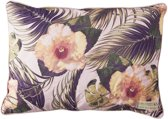 Riviera Maison Hibiscus Bay Outdoor Pillow Cover - Kussenhoes - 65x45 cm - Multi