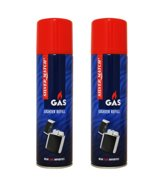 Silver Match Aansteker gas 2 x 250 ml