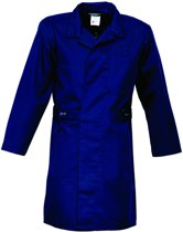 HaVeP Basic Stofjas - Lang - Maat 50 - Marineblauw