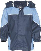 Playshoes Regenjas Kinderen - Donkerblauw/Blauw - Maat 140