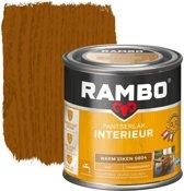 Rambo Pantserlak Interieur Transparant Mat Warmeiken 0804-0,75 Ltr