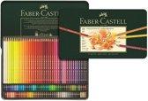 Faber Castell kleurpotlood Polychromos blik � 120 stuks