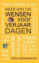 Meer dan 700 wensen voor verjaardagen