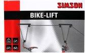 Simson fiets lift-ophangsysteem - Zwart/Rood
