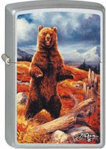 Aansteker Zippo Linda Picken Grizzley Bear