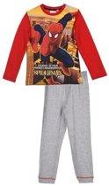 Spiderman pyama rood maat 98