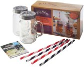 Kilner Wekpot - 9-delige set - Drinkbekers