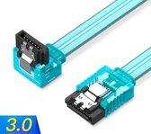 3.0 SATA 7p Kabel 6GPS 0.5M - Blauw