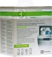 Electrolux vaatwasser Care Set - ontvetter, ontkalker, zout en luchtverfrisser - E6DK4102 - universeel