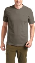 Maier Sports Walter t-shirt Heren beige Maat XL
