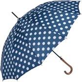Paraplu ø 93*90 cm Blauw   MLUM0025BL   Clayre & Eef