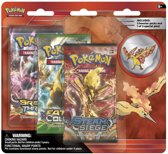 Pokemon  Legendary Birds Collector's Pin 3 Pack Moltres Engels