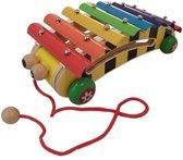 Playwood xylofoon bij op wielen