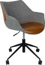 Zuiver Doulton Vintage - Bureaustoel - Bruin