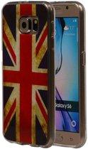 Samsung Galaxy S6 G920F Hoesje Britse Vlag TPU UK