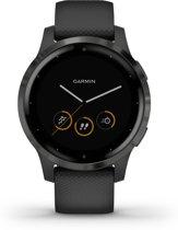 Garmin Vivoactive 4S - Smartwatch - Black/Slate
