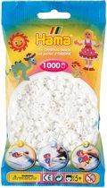 Hama midi Strijkkralen 0001 wit 1000 stuks, gewone strijkkralen