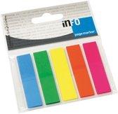 Info Page Markers film 12x50mm, 5 kleuren