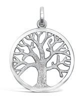 TRESOR tree of life hanger - Zilver - 27,5mm