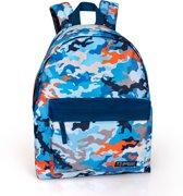 Delbag - Rugzak - Camouflage  - Blauw - 43 cm