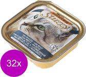 Mister Stuzzy Cat Paté 100 g - Kattenvoer - 32 x Rund