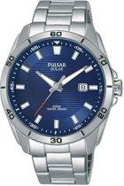 Pulsar PX3149X1 horloge heren - zilver - edelstaal
