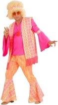 """""""Roze hippie kostuum voor mannen  - Verkleedkleding - Small"""""""