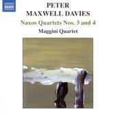 Maxwell Davies: Naxos Quartets