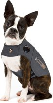 Thundershirt Antistress Vest - Natuurlijk middel tegen vuurwerkangst - Hond - Grijs - XS - 33-43 cm