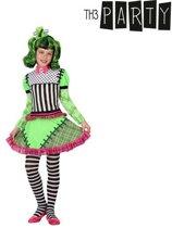 Verkleedkostuum groen monster voor meisjes Halloween  - Verkleedkleding - 110/116