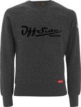 Freestyler .. Sweater Slim Fit Gray Granite - Maat XXL - Off Side - incl. Gratis rugzak