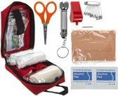 Summit - First Aid - Survival kit - Eerste Hulp Set – Verbanddoos - Veiligheidsdoos - EHBO doos - Rood